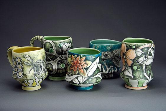 Cj Niehaus Art Department Faculty Ceramics