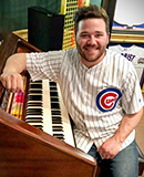 MCC alum John Benedeck, organist for the Cubs
