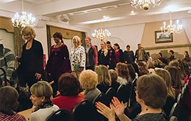 photo of Festive Fashions event