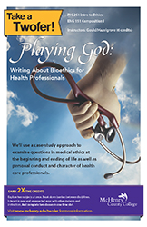 Playing God: Writing About Bioethics for Health Professionals
