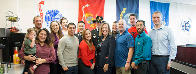 photo of MCC student veterans